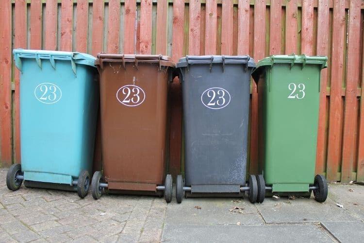 Wheeled Trash Cans