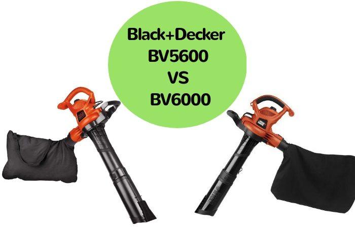Black+Decker BV5600 vs BV6000