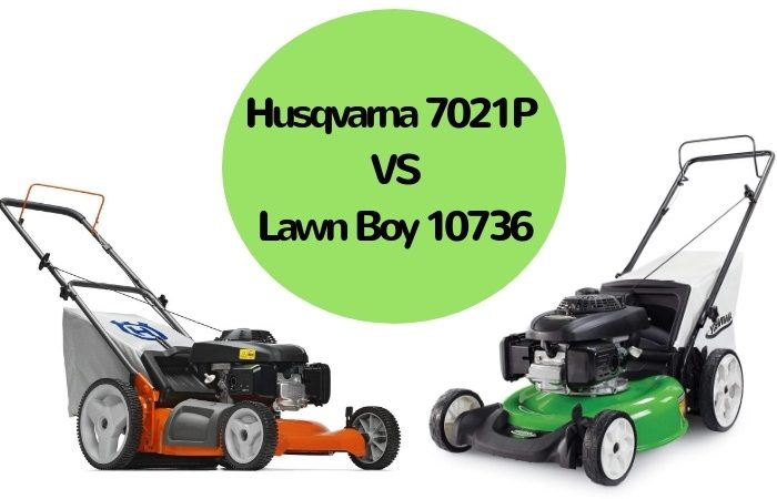 Husqvarna 7021P vs Lawn Boy 10736