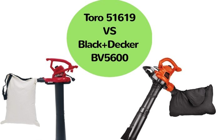 Toro 51619 vs Black+Decker BV5600