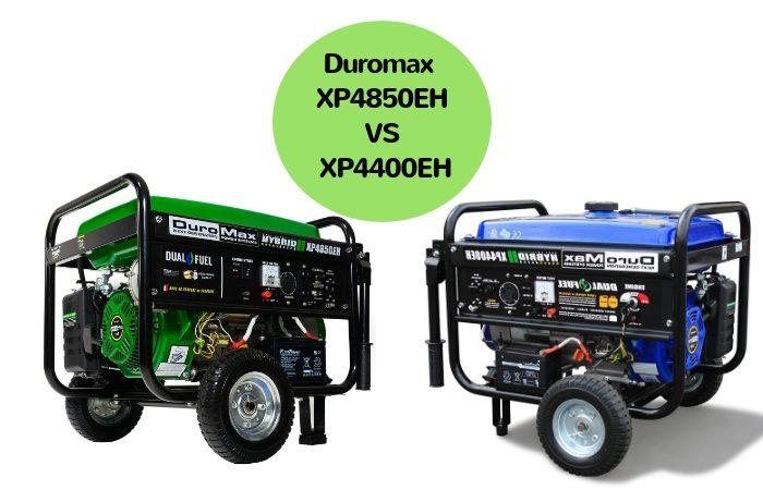 Duromax XP4850EH vs XP4400EH