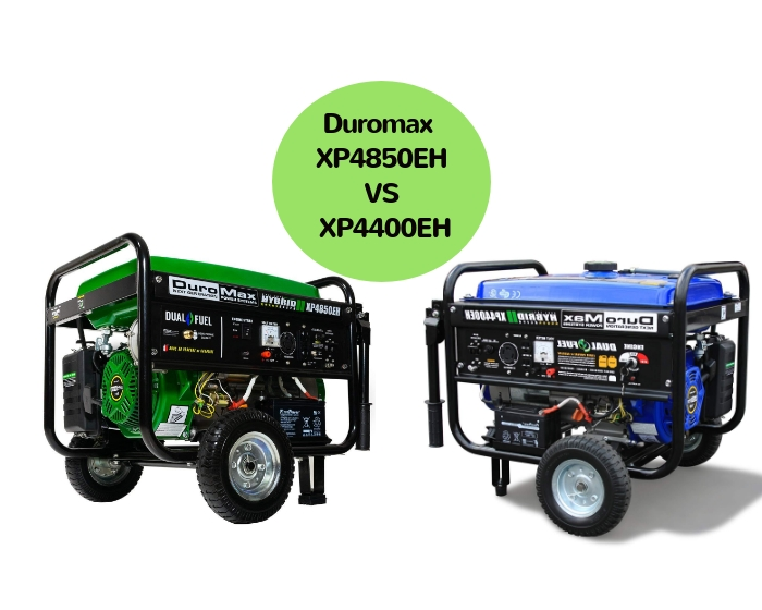 duromax xp4850eh vs xp4400eh uncle fred s farm