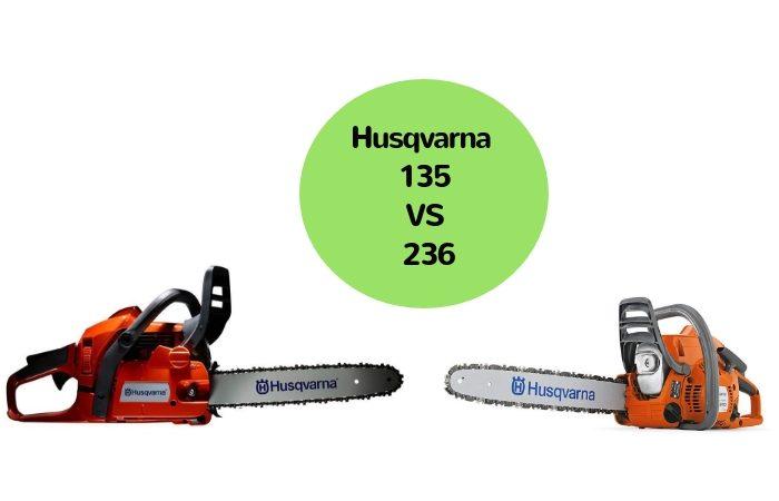 Husqvarna 135 vs 236