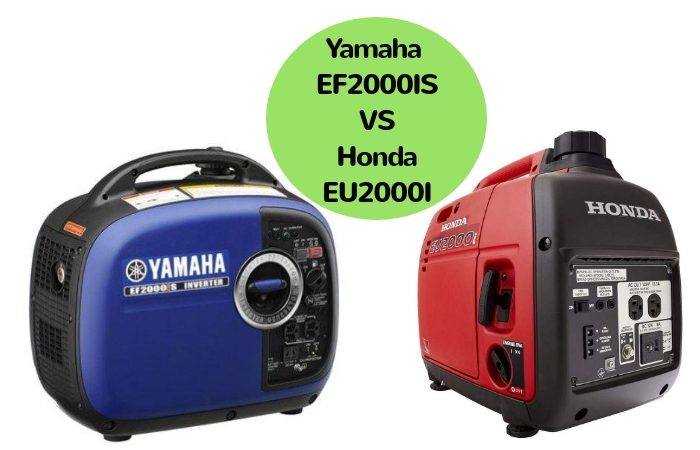 Yamaha EF2000IS vs Honda EU2000I