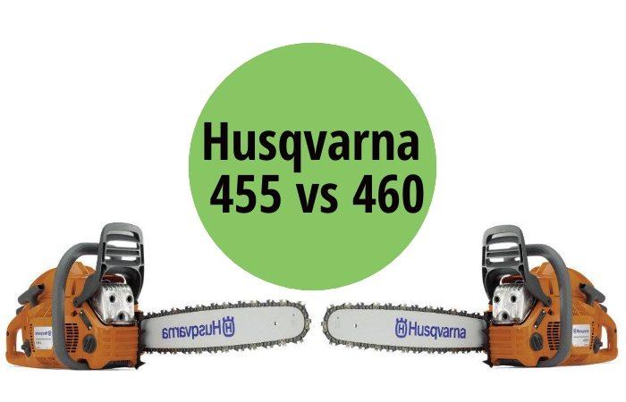 Husqvarna 455 vs 460