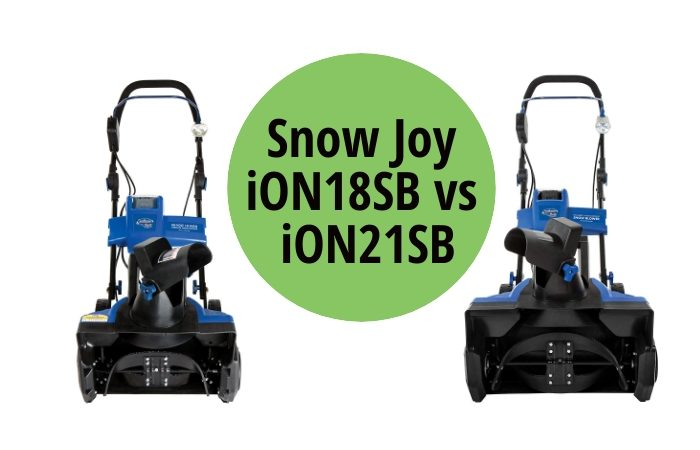 Snow Joy iON18SB vs iON21SB