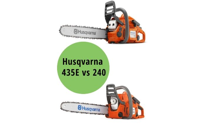 Husqvarna 435E vs 240 Review