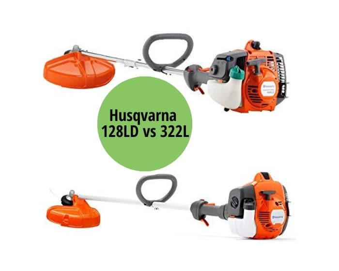 Husqvarna 128LD vs 322L