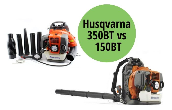 Husqvarna 350BT vs 150BT