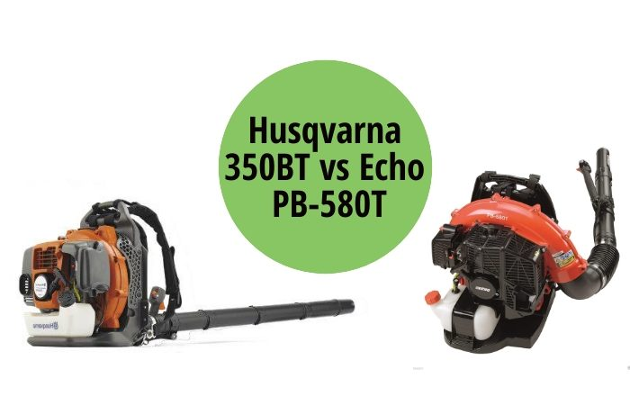 Husqvarna 350BT vs Echo PB-580T