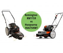 Remington RM1159 vs Husqvarna HU675HWT