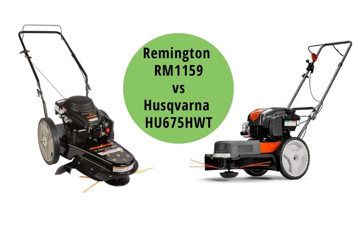 Remington RM1159 vs Husqvarna HU675HWT