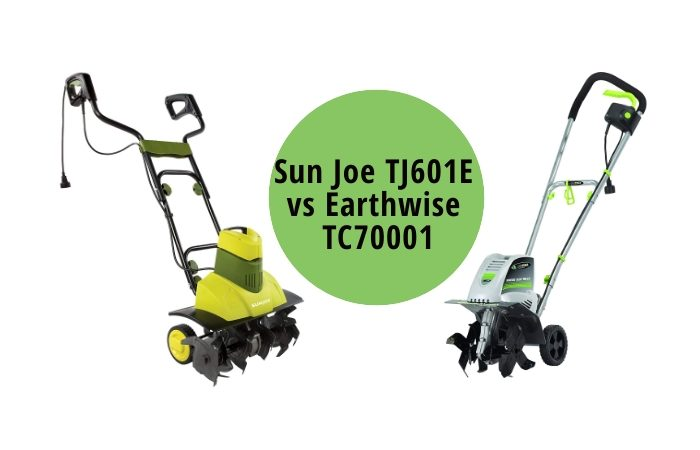 Sun Joe TJ601E vs Earthwise TC70001