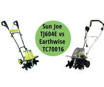 Sun Joe TJ604E vs Earthwise TC70016