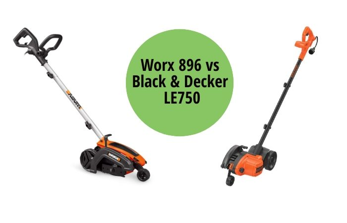 Worx 896 vs Black & Decker LE750