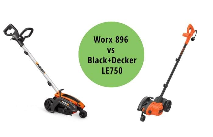 Worx 896 vs Black+Decker LE750