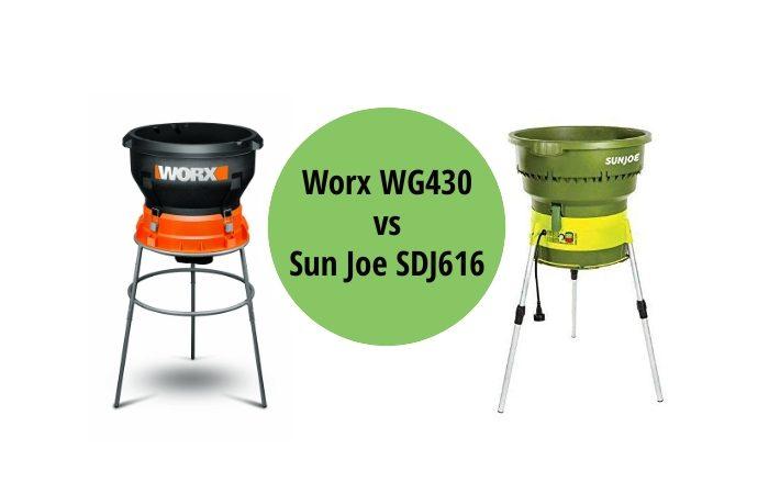 Worx WG430 vs Sun Joe SDJ616