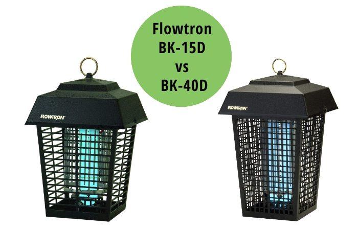 Flowtron BK-15D vs BK-40D