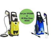 Sun Joe SPX3000 vs AR Blue Clean AR383