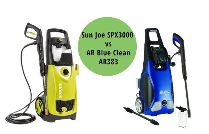 Sun Joe SPX3000 vs AR Blue Clean AR383