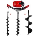 ECO LLC 1-Person 52cc 2-Cycle Earth Auger