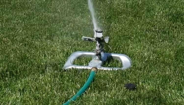 Pulsating Sprinkler for Low Pressure
